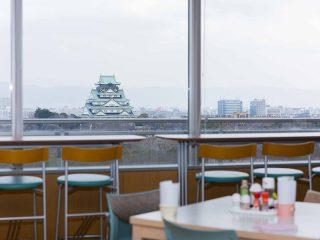 大手前病院 健康管理センター 最上階から見える 大阪城