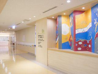 洛和会音羽病院 健診センター 通路